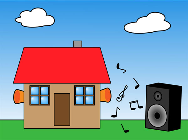 Protect your House from noise